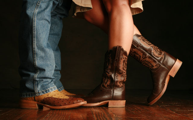 cowboy boots for dancing
