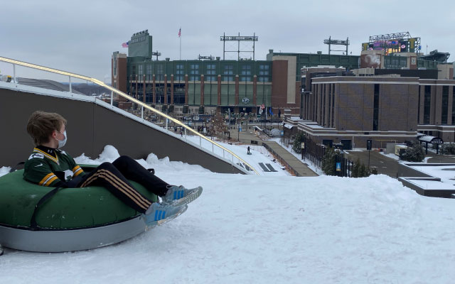packers fan tubing