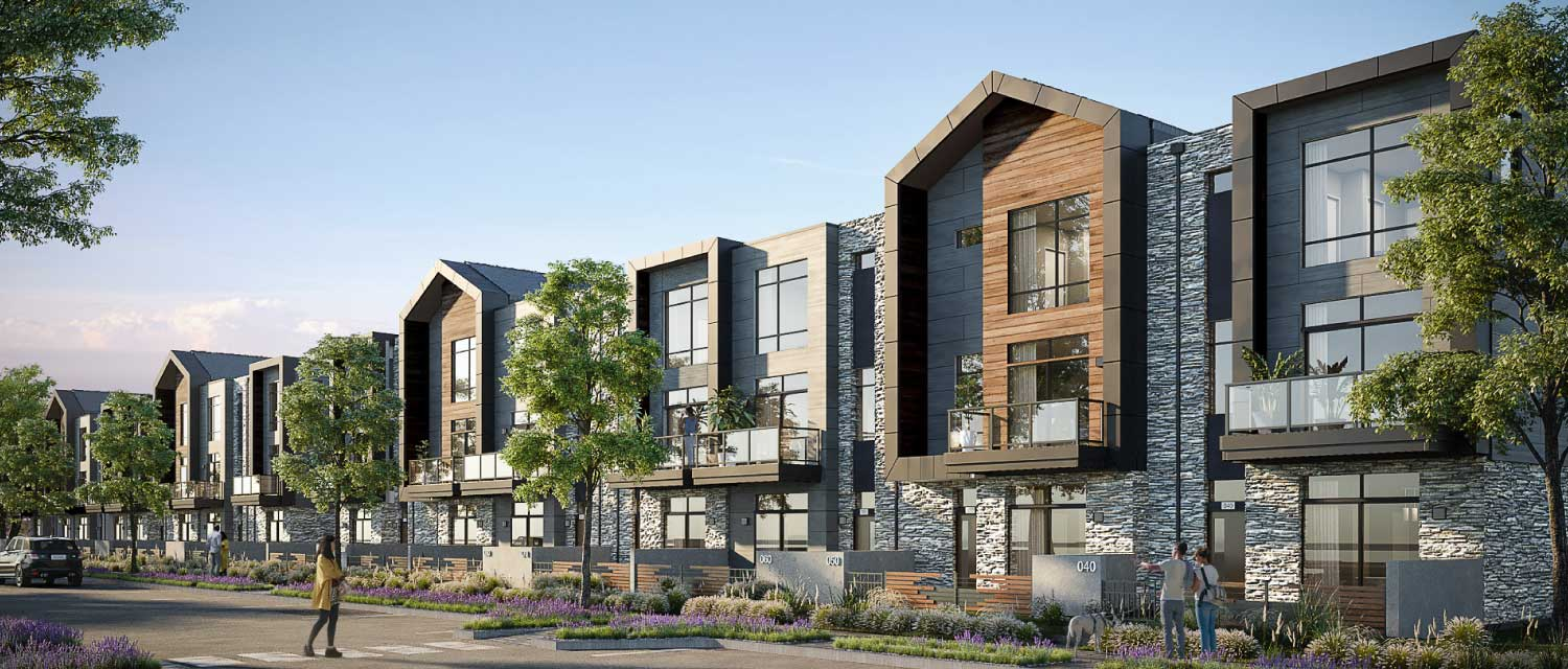 town home renderings